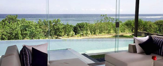 Luxury 5 bedroom beachfront villa for sale on Canggu beach